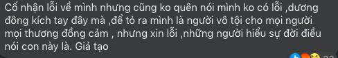 Vợ hai cố NS Vân Quang Long thanh minh sau khi bị tố sống giả tạo: Dù Lan không sai, nhưng Lan chấp nhận hết lỗi về mình
