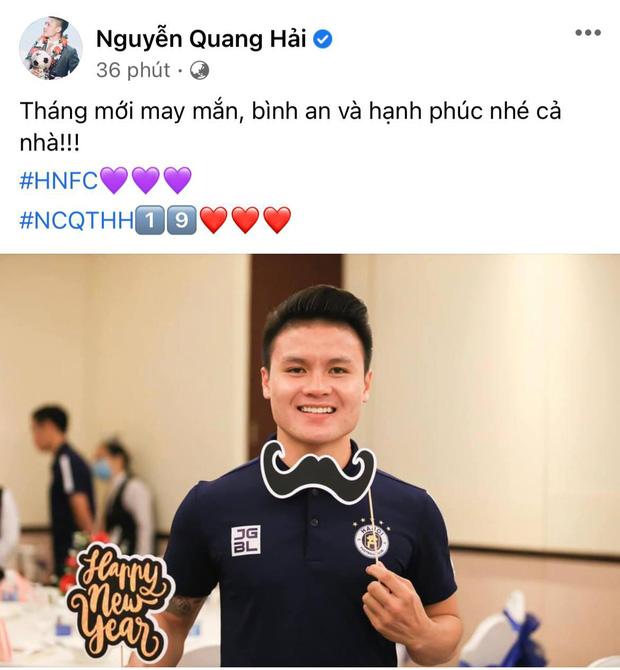 Động thái đầu tiên của Quang Hải sau khi bị tình cũ và diễn viên Huỳnh Anh thay nhau cà khịa