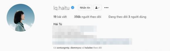 Giữa nghi vấn bị cướp bồ, tài khoản Instagram của Thiều Bảo Trâm đạt 2 triệu người theo dõi