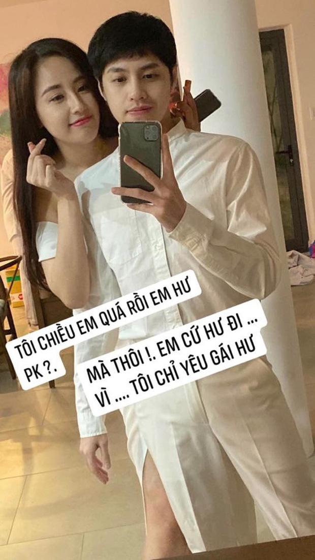 Mai Phương Thuý bị dòm ngó, Noo Phước Thịnh đáp trả: Chỉ muốn bụp mấy ông ngắm vợ mình