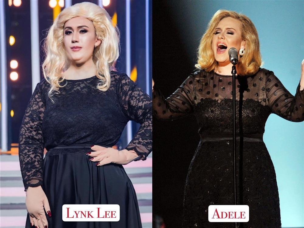 Lynk Lee gây choáng khi hóa thân thành Adele, fan ném đá vì đang body shaming