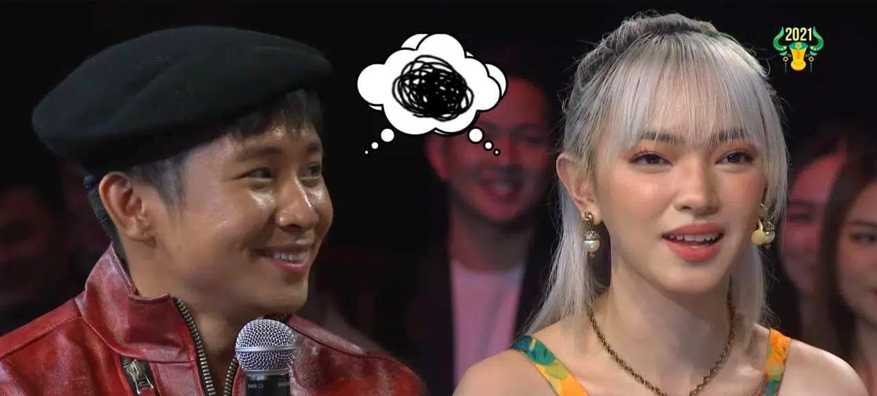 Châu Bùi ngượng ngùng khi bất ngờ bị Ricky Star gọi là... chị dâu