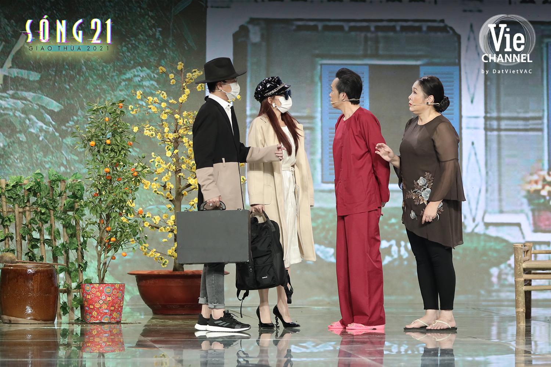 HOT: Hoài Linh bất ngờ hóa rapper Binz, trở lại màn ảnh nhỏ trong đêm Giao Thừa Tết Tân Sửu