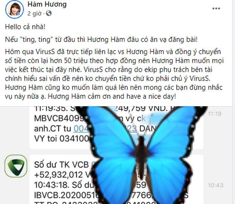 Thánh bình luận Hương Hàm tung tin nhắn xác nhận ViruSs âm thầm trả nốt tiền nợ
