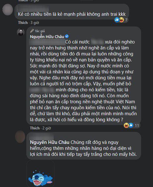NSƯT Hữu Châu bức xúc khi bị giả mạo tài khoản để bình luận gắt về chuyện đạo nhái trong Vbiz