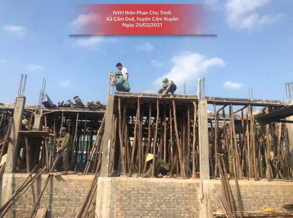 Thủy Tiên thông báo tiến độ xây dựng nhà cộng đồng tránh trú bão lũ trị giá 20 tỷ tại Hà Tĩnh