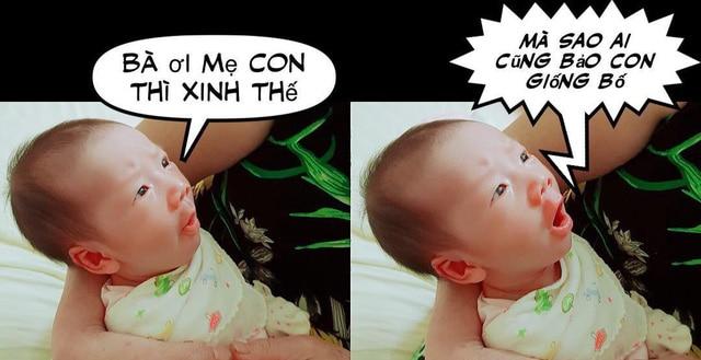 JustaTee khoe loạt ảnh đáng yêu của con trai thứ 2 với biểu cảm tấu hài gây bão MXH