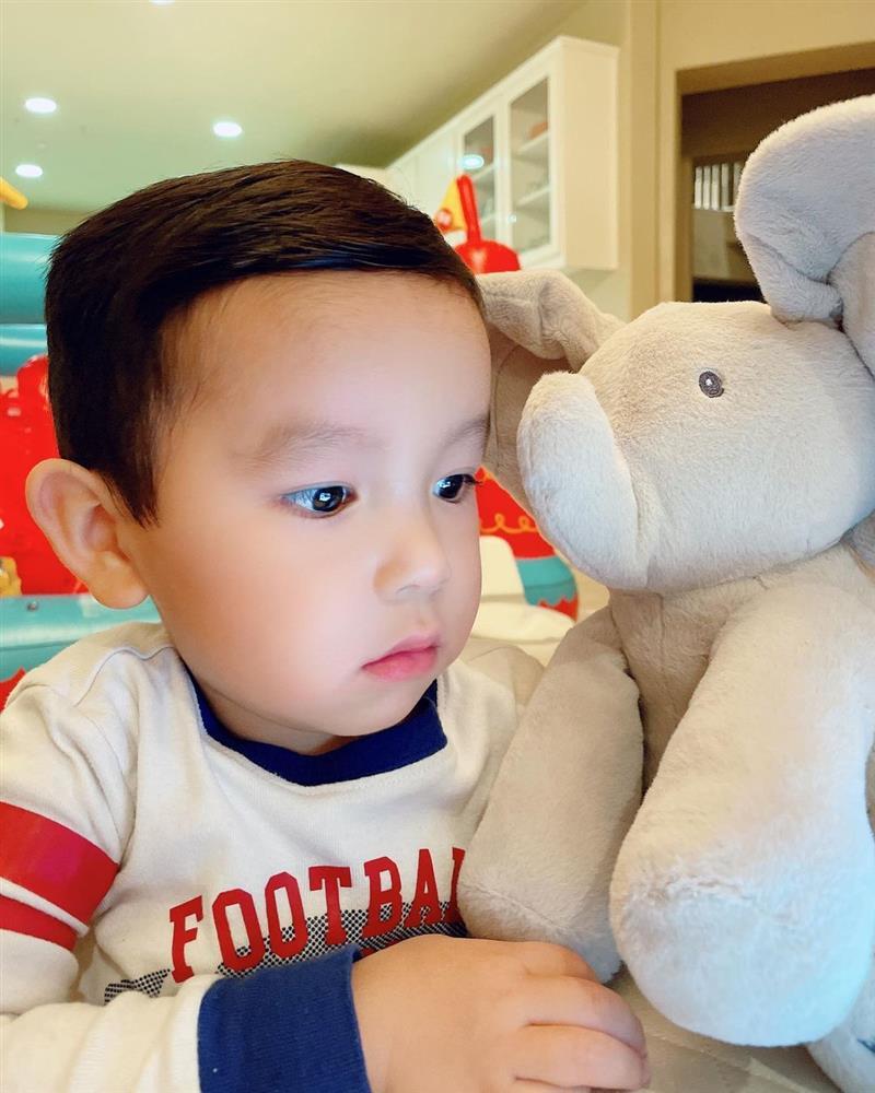 Phạm Hương khoe ảnh con trai ngày càng phổng phao, tận hưởng cuộc sống sinh ra đã ngậm thìa vàng