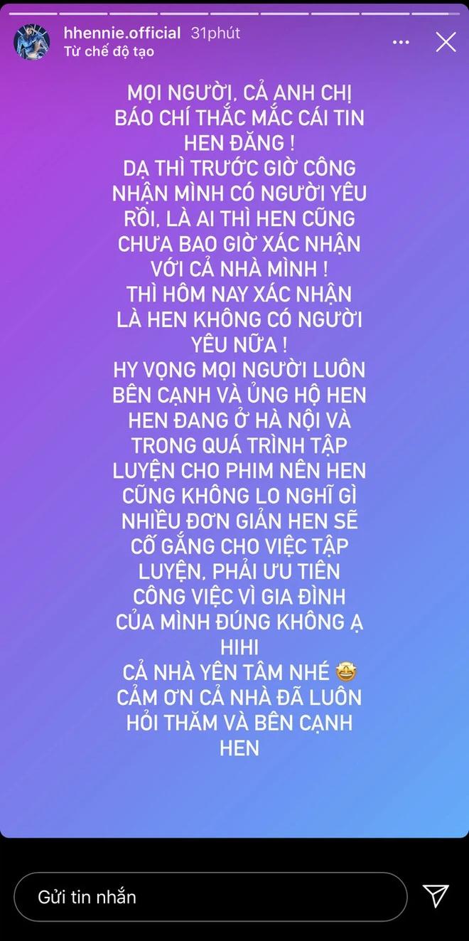 Bạn trai cũ khen ngợi HHen Niê, chứng minh mối quan hệ tốt đẹp hậu chia tay