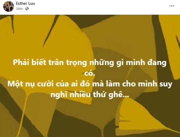 """Nửa đêm Hari Won bỗng đăng status đầy ẩn ý: """"Phải biết trân trọng những gì mình đang có"""