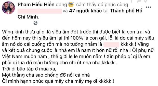 Hiếu Hiền khoe vợ có bầu lần 3, kể lại cú twist máy siêu âm bị hư làm Hà Tăng cùng dàn sao Việt cười xỉu