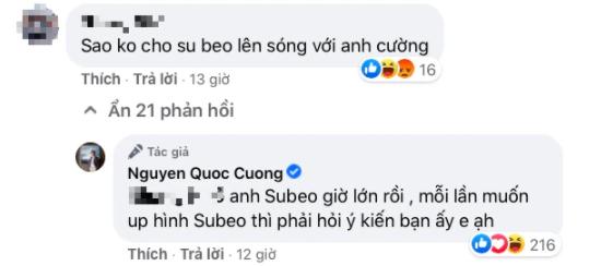 Bị netizen bắt bẻ lâu lắm rồi không đăng ảnh Subeo, Cường Đô La liền tiết lộ lý do khiến ai cũng phải gật gù tán dương