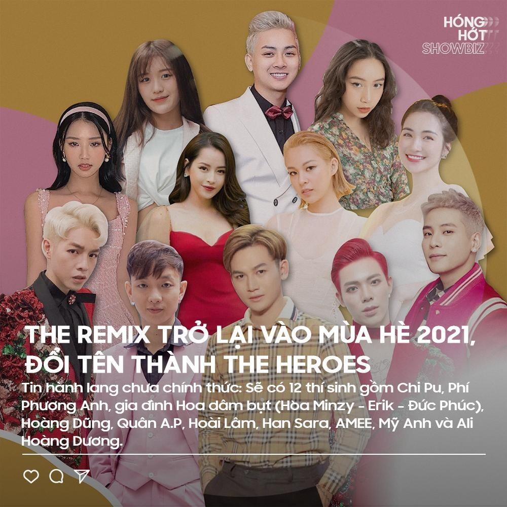 Rộ tin Chi Pu, Phí Phương Anh sẽ chiến nhau ở The Remix mùa 4?