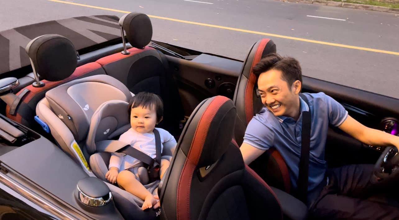 Cường Đô La tặng siêu xe bạc tỷ cho con gái chưa đầy 1 tuổi