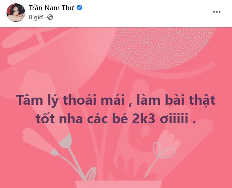 Sao Việt rộn ràng chúc sĩ tử 2k3 vượt vũ môn thành công trong kỳ thi tốt nghiệp THPT