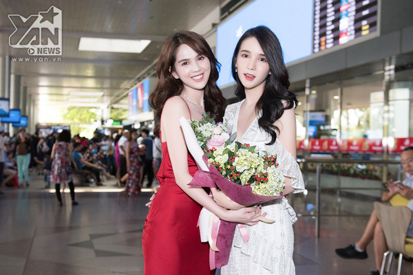 2 nhan sắc ngây thơ đình đám hội ngộ: Phần thắng nghiêng về Ngọc Trinh hay thần tiên tỉ tỉ Thái Lan?