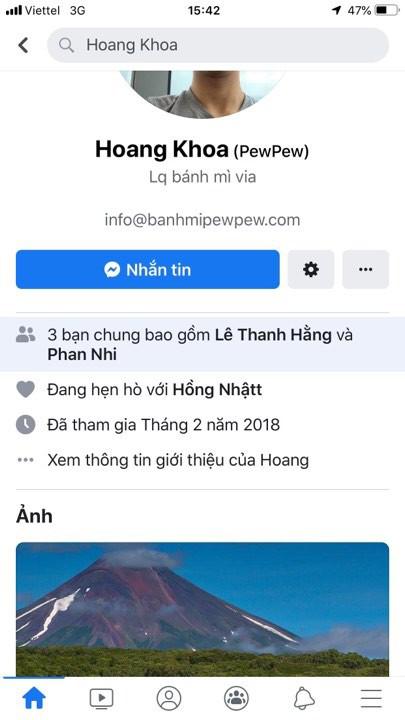 Chú Pew bất ngờ đổi trạng thái hẹn hò trên facebook, dân tình nháo nhào truy tìm danh tính người yêu