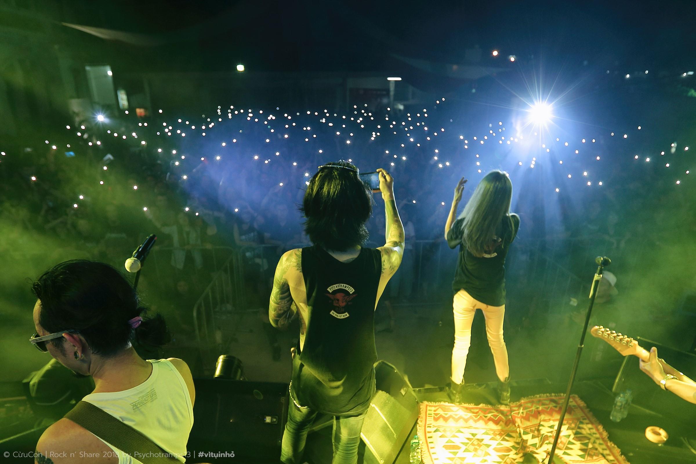 Rock'nShare - Đêm nhạc rock cháy bùng ngọn lửa đam mê với những trái tim yêu thương