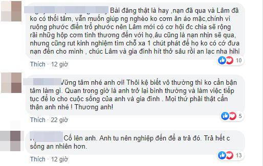 Nhiều sao Việt lên tiếng bênh vực Lê Dương Bảo Lâm khi bị chỉ trích dàn dựng cảnh bị hành hung khi đang phát cơm từ thiện
