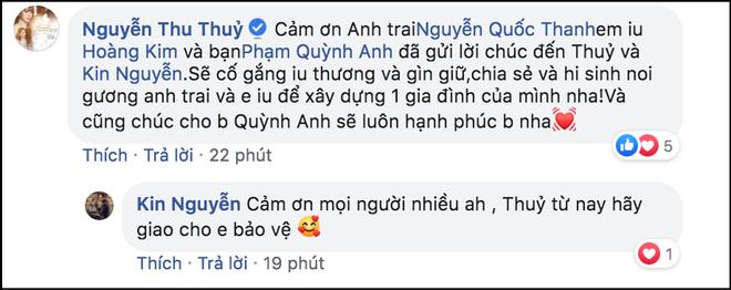 Thu Thủy vừa được bạn trai kém tuổi cầu hôn, vợ chồng Ưng Hoàng Phúc và Phạm Quỳnh Anh lập tức quay clip gửi lời nhắn nhủ đặc biệt