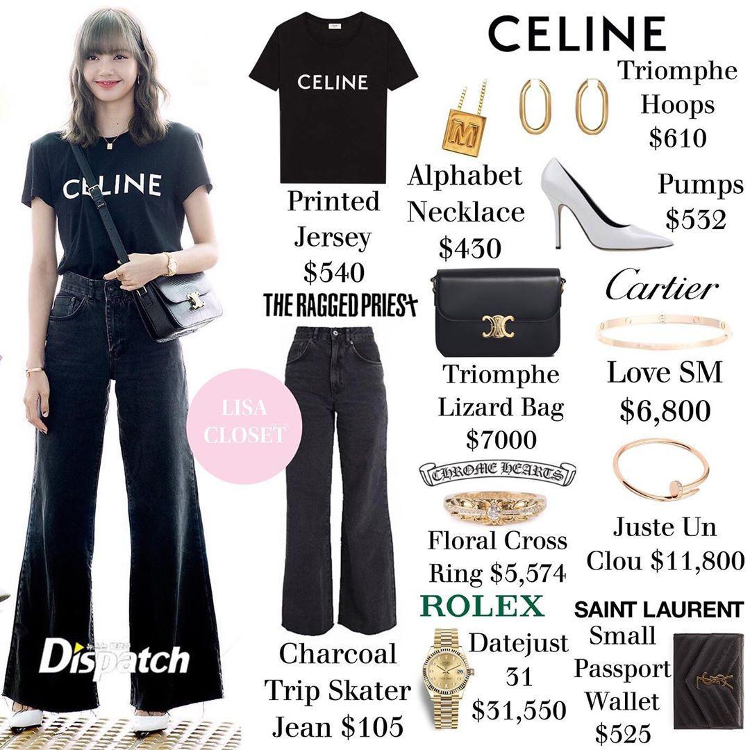 Lisa (BLACKPINK) đích thị là cô gái bên ngoài xinh xắn bên trong nhiều tiền với loạt đồ tiền tỷ từ các thương hiệu thời trang lừng danh