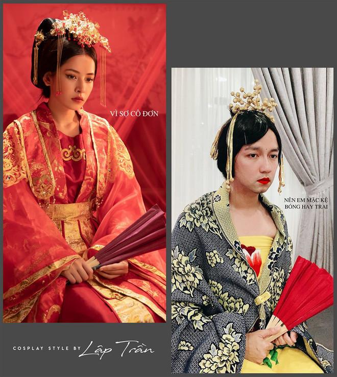 Xuất hiện thánh cosplay Việt: Đội vỏ bưởi liền hoá thành Taylor Swift, khoác cái chăn lại thấy giống Chi Pu