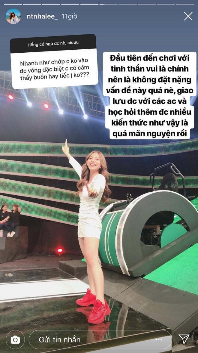 Bạn gái Quang Hải - Nhật Lê lý giải việc trả lời ngô nghê trong chương trình Nhanh Như Chớp: Do mồm nhanh hơn não