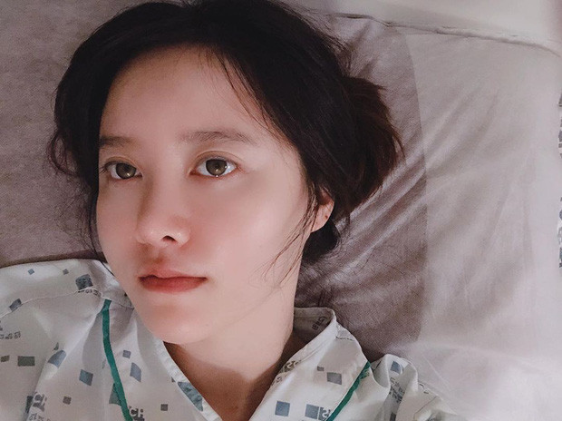 Giữa bão ly hôn chấn động,  Goo Hye Sun nhập viện gấp để phẫu thuật khối u khiến CĐM lo lắng