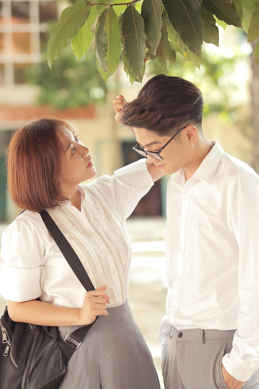 Hé lộ trọn bộ ảnh cưới vô cùng ngọt ngào của Văn Mai Hương - Bùi Anh Tuấn