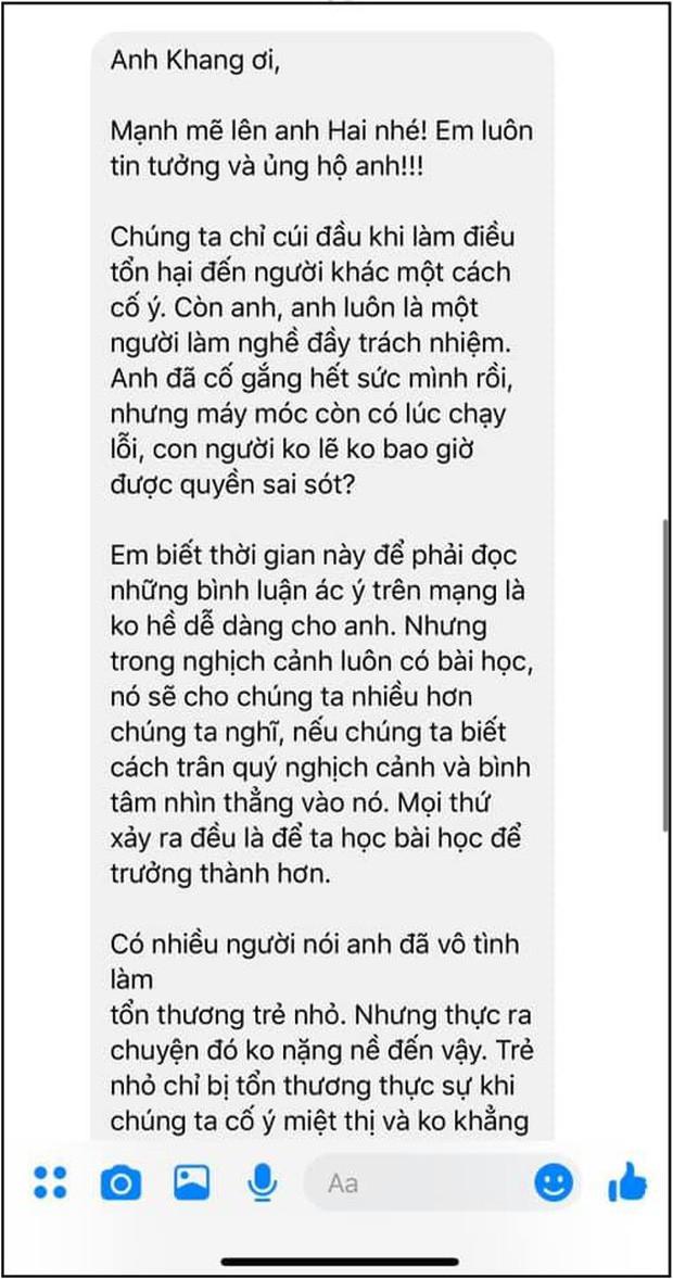 Bị khán giả công kích sau sự cố đọc nhầm kết quả của Chấn Quốc , MC Nguyên Khang lên tiếng giải thích lần nữa