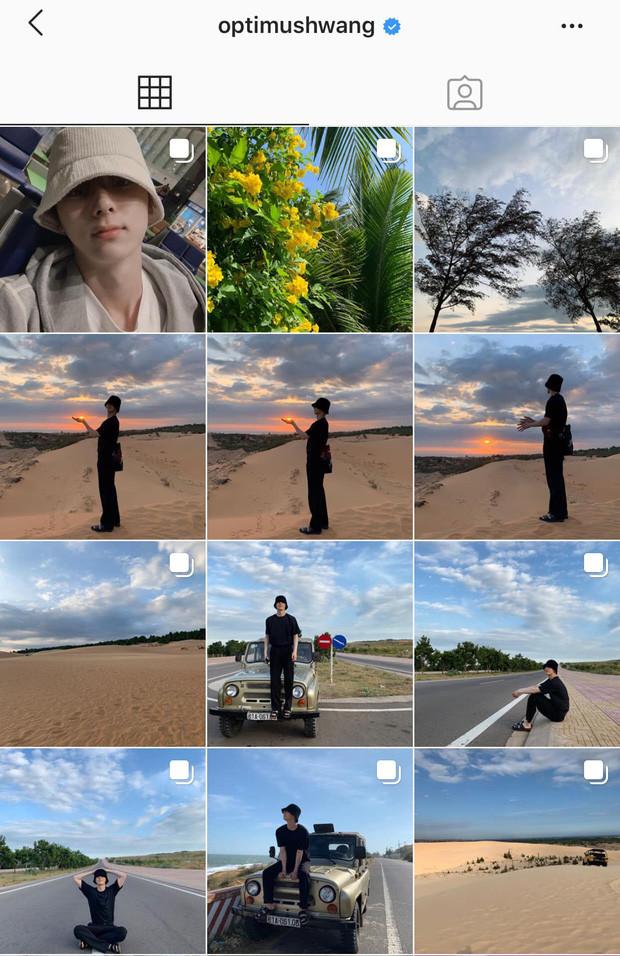 Đi du lịch Việt Nam, NU'EST Hwang Minhyun phấn khích đến mức chỉ trong một ngày mà đăng sương sương tới 27 bức hình