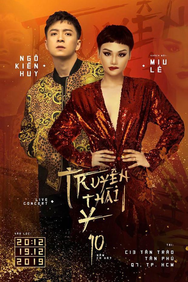 Miu Lê vừa cà khịa Hương Ly, quản lý Ngô Kiến Huy cà khịa lại bóng gió nữ ca sĩ không có ca khúc nào hot?