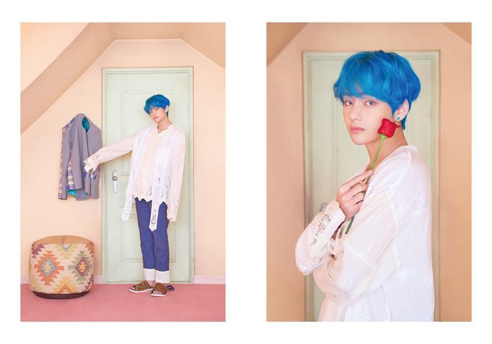 BTS tung thêm ảnh teaser: Một thành viên chơi trội với trang phục già dặn và đôi dép chói hơn mái ngói
