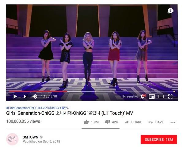 Ai nói SNSD đã hết thời: Oh!GG đưa MV Lil Touch băng băng cán mốc trăm triệu view