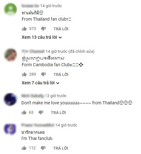 Nettizen Thái bấn loạn, thi nhau thả tim cho dance version Người nào hay của Chi Pu