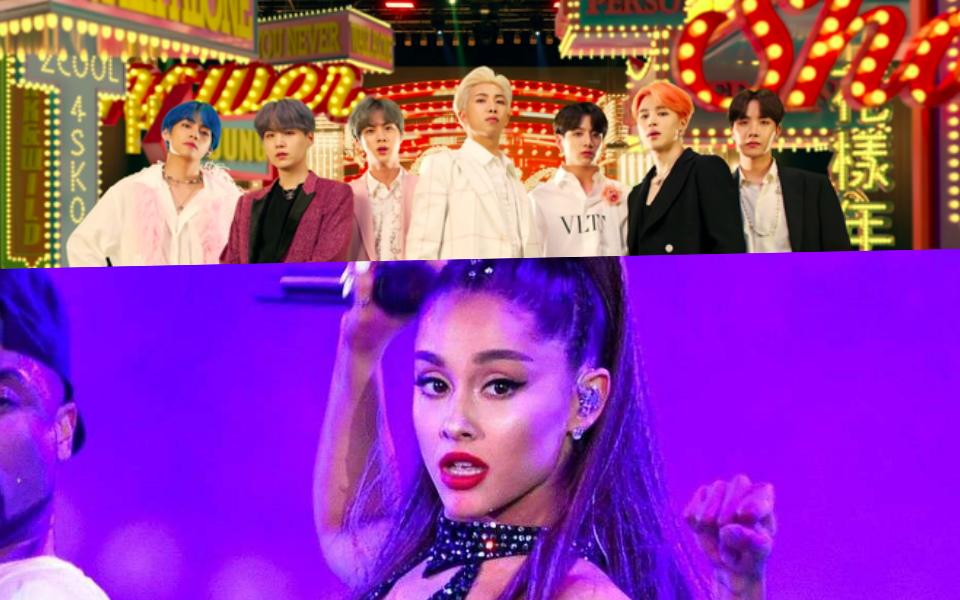 BTS chính thức phá vỡ thành tích của Ariana Grande, lập kỉ lục thế giới mới rồi đây!