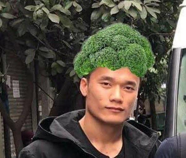 Trước khi anh Bo Đan Trường khoe tóc củ hành, dân tình một thời náo loạn vì kiểu đầu súp lơ của Bùi Tiến Dũng
