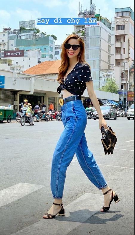 Hồ Ngọc Hà hack cả chục tuổi với street style trẻ trung - HHen Niê diện bikini khoe đường cong bốc lửa
