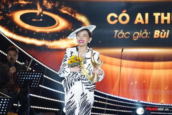 Cống Hiến 2019: Ca khúc của năm vang lên giai điệu CATENA và khoảnh khắc Tóc Tiên vỡ òa hạnh phúc nhận giải