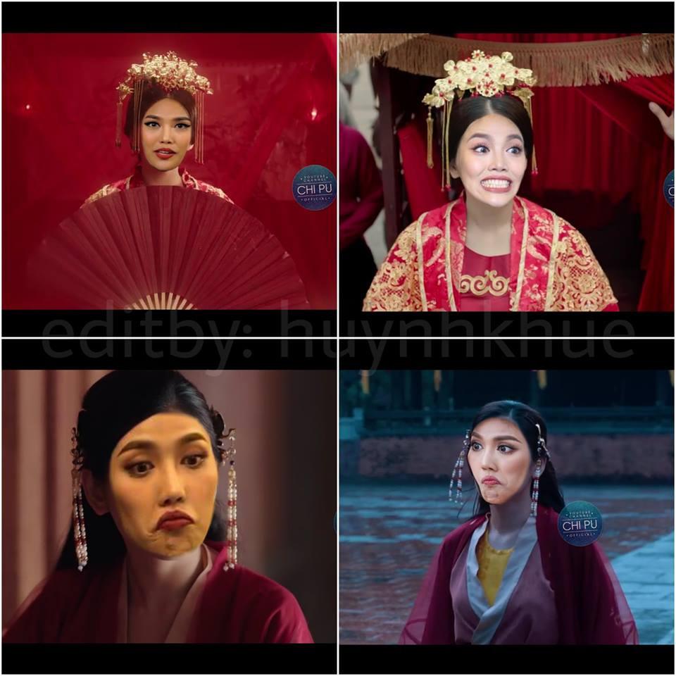Thay Chi Pu vào vai Cám trong MV mới, Lan Khuê suýt khiến vua ngất với biểu cảm không thể hài hơn