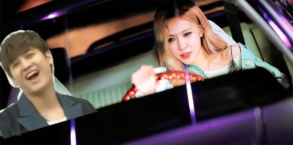 Lái xe chở cả Kpop đi chơi đến hơn 250 triệu lần, cuối cùng Rosé (Black Pink) lại bị đài KBS cấm vì vi phạm luật giao thông