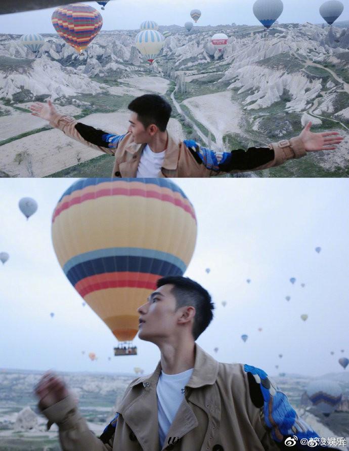 Bộ ảnh nhận 120.000 share của Dương Dương: Chỉ là chụp với khinh khí cầu thôi có cần đẹp trai đến thế không?