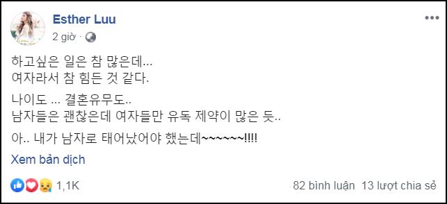 Đang hạnh phúc bên Trấn Thành, Hari Won ủ rũ đăng đàn gây hoang mang: Đáng lẽ tôi nên là đàn ông