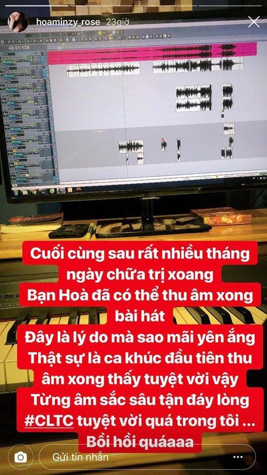 Phản ứng đáng sợ của cộng đồng mạng khi Hòa Minzy thông báo trở lại với ca khúc tuyệt vời nhất từ trước đến nay