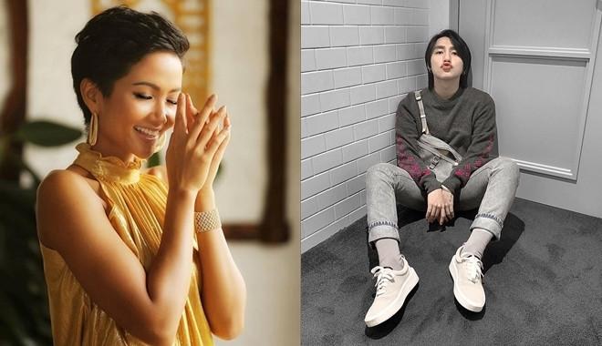 Phản ứng tẩm ngẩm tầm ngầm đích thực fangirl của HHen Niê khi thấy Sơn Tùng được khen đẹp trai, vừa trắng lại vừa giàu