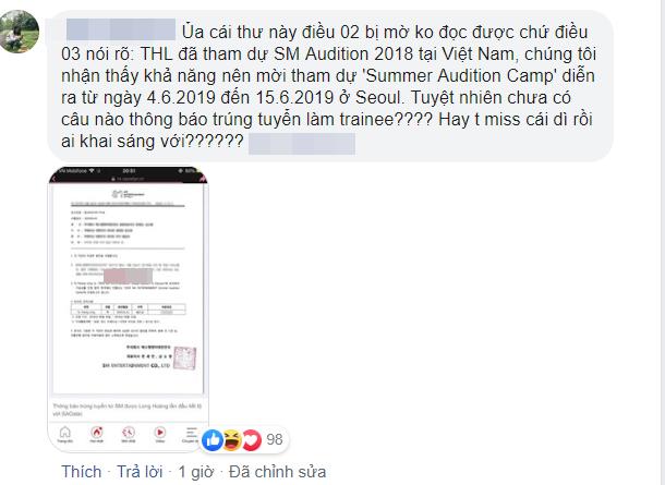 Hóa ra Long Hoàng vẫn chưa chính thức là thực tập sinh của SM Entertainment, thực hư thế nào?