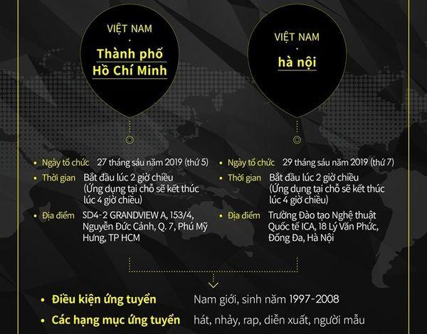 Big Hit Entertainment tuyển thực tập sinh tại Việt Nam: Thời gian, địa điểm chính thức công bố
