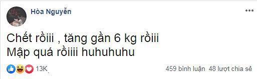 Hòa Minzy lo lắng khi tăng 6kg: Tui không muốn cái tất bọc quả lê quay trở lại