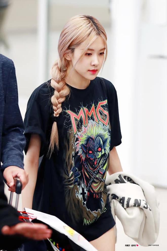 May quá Rosé không để kiểu tóc này, không thì sẽ già hơn cả chục tuổi
