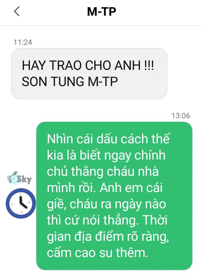 Sơn Tùng MTP nhắn tin rủ rê fan Hãy trao cho anh: Thính comeback chuẩn xác đến 99,99% rồi các c ơi!